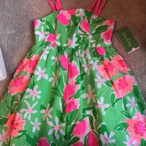 Nwt lilly Pulitzer Girls Dress Size 6